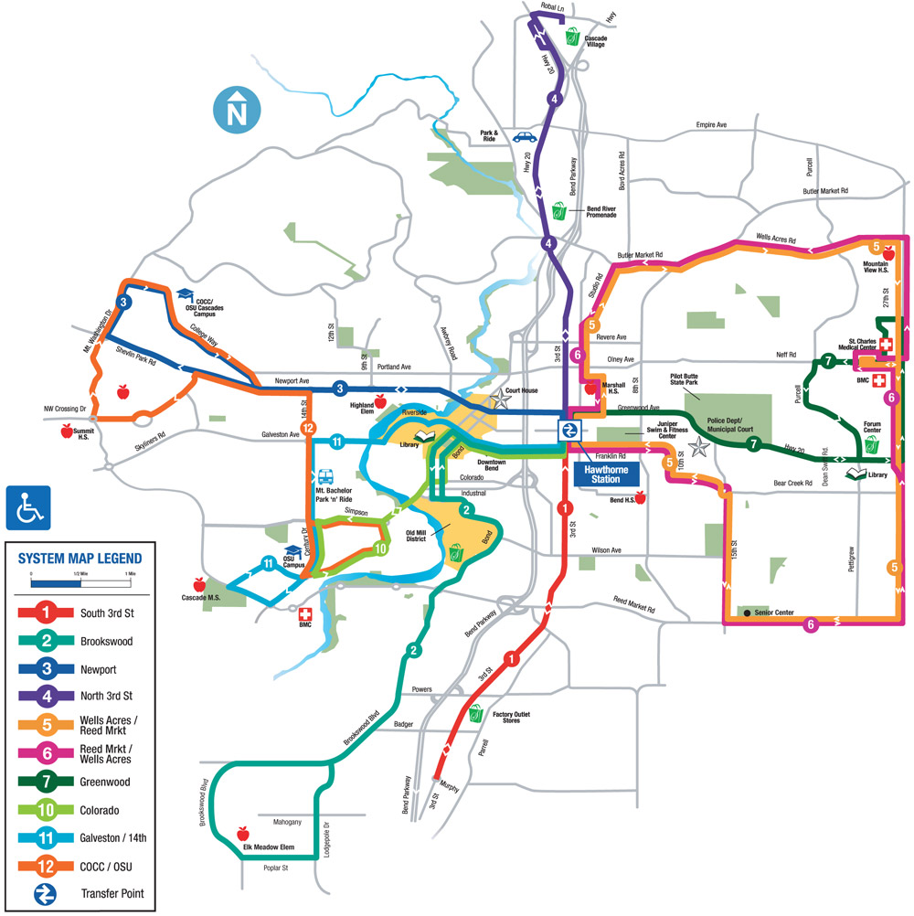Bend Bus Service Ride In Bend Oregon With Cet