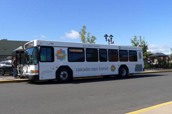 photo of CET bus