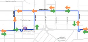 Route 3 detour map